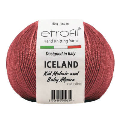 Iceland Burgundy 335