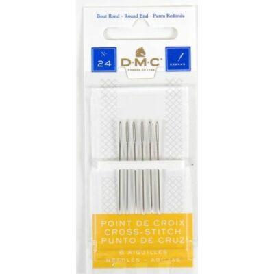 DMC tompa tű keresztszemes hímzéshez 24