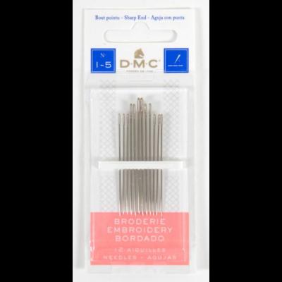 DMC hegyes tű hosszú 1-5