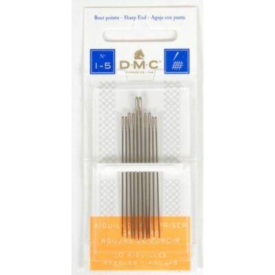 DMC hegyes tű 1-5 normálfejű