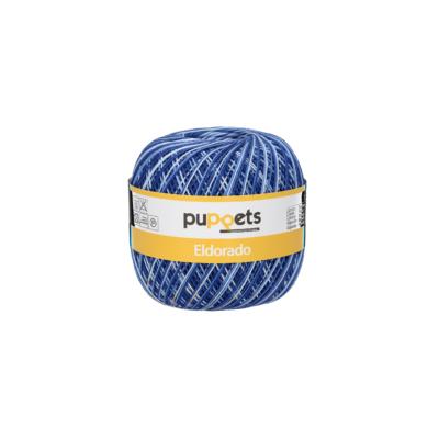 Puppets Eldorado 51/0054 Color kék 50g