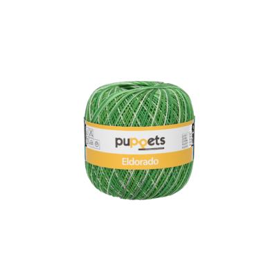 Puppets Eldorado 55/0124 Color Pasztel zöld 50g