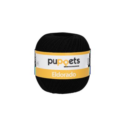 Puppets Eldorado 16/4251 Fekete 50g