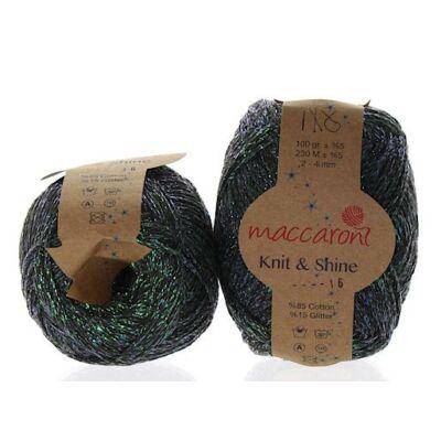 Knit & Shine 16 Khaki- gyöngyház
