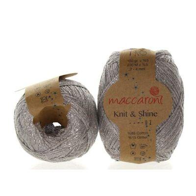 Knit & Shine 2 Szürke- ezüst