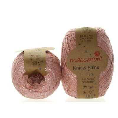 Knit & Shine 5 Rózsaszín-ezüst