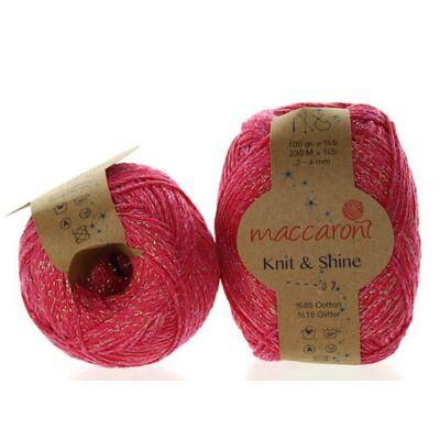 Knit & Shine 7 Fukszia- gyönygház