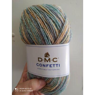 DMC Confetti Barack-kék-zöld 551