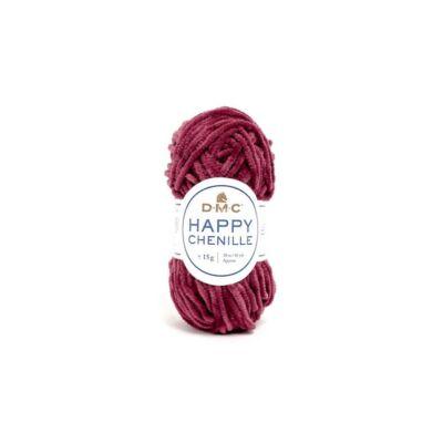 DMC happy Chenille 31 burgundi