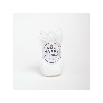 DMC Happy Chenille 20 fehér