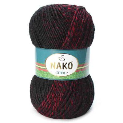 NAKO Ombre Piros-fekete