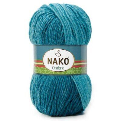 NAKO Ombre Kékeszöld