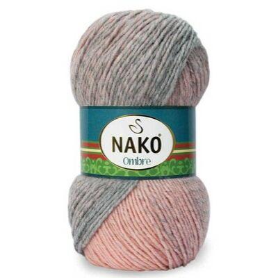 NAKO Ombre Rózsaszín-szürke